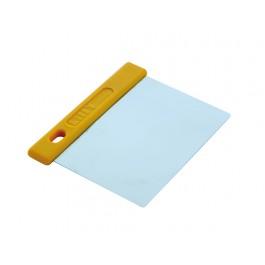 Teigschaber flexibel 12 cm aus Edelstahl von Prismafood - PSF-141