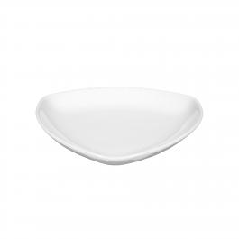 Teller flach dreieckig 15 cm