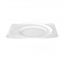 Brotteller eckig 19,5 cm