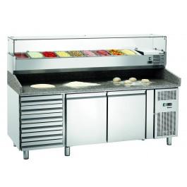 STL Pizzakühltisch GL26640 von Bartscher