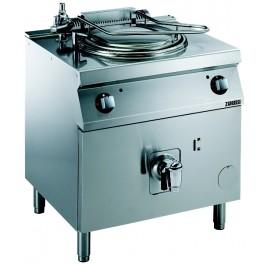 Elektro-Kochkessel, Standgerät mit indirekt beheiztem 60 l-Kessel und Pressostat