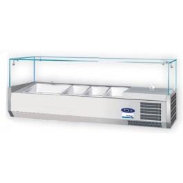 COOL-LINE-Kühlaufsatz, für 3 x GN 1/3-150 und 1 x GN 1/2-150