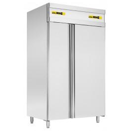 Kühl- / Tiefkühlkombination, mit Kühlabteil für GN 2/1 und Tiefkühlabteil für GN 1/1