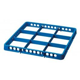 Spülkorbteiler 9, 500x5000x45, blau von Bartscher