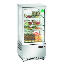 Mini-Kühlvitrine 78L, Edelstahl von Bartscher