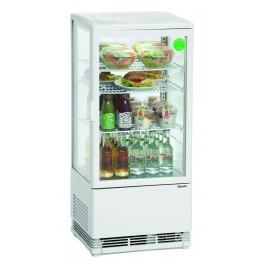 Mini-Kühlvitrine 78L, weiß von Bartscher