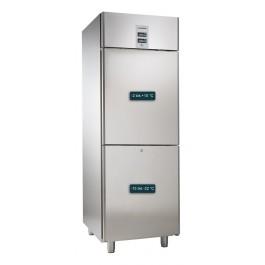 Kühl- / Tiefkühlkombination, für GN 2/1, mit 1 Kühl- und 1 Tiefkühlabteil
