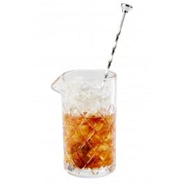 Rührglas mit Lippe Ø 9 cm, H: 16,5 cm, 0,5 Liter