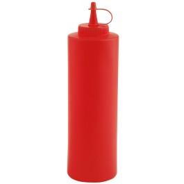 Quetschflasche Ø 7cm, H: 24 cm, 0,7 Liter