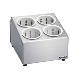 STL Besteckbehälter m.4 Besteckköchern von Bartscher