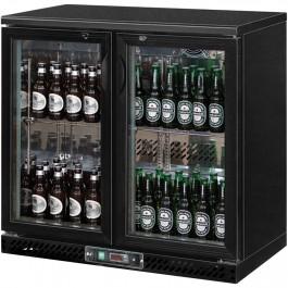 Bar Cooler, 223 Liter, zwei Flügeltüren, 920 x 535 x 925 mm (BxTxH) von Stalgast