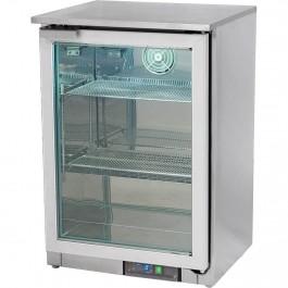 Bar Display Tiefkühlschrank, 100 Liter, 595 x 525 x 875 mm (BxTxH) von Stalgast
