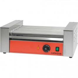 Hot-Dog-Grill CATERINA, 5 Stahlrollen, 552 x 250 x 220 mm (BxTxH) von Caterina