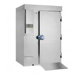 Schnellkühler / Schockfroster, Version Topline - Durchfahrmodell für Hordenwagennutzung mit bis zu 20 x GN 2/1oder EN 600 x 800 - 65 mm Grundausstattung ohne Maschinensatz