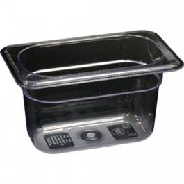Gastronormbehälter, Polycarbonat, GN 1/9 (100 mm) von Stalgast