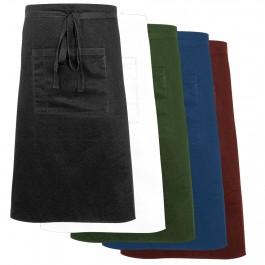 Nino Cucino Bistroschürze mit Tasche, bordeaux, Länge 70 cm von Nino Cucino