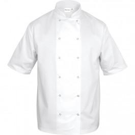 Nino Cucino Kochjacke kurzarm, weiß, Größe S von Nino Cucino