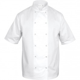 Nino Cucino Kochjacke kurzarm, weiß, Größe L von Nino Cucino