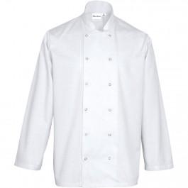 Nino Cucino Kochjacke langarm, weiß, Größe S von Nino Cucino