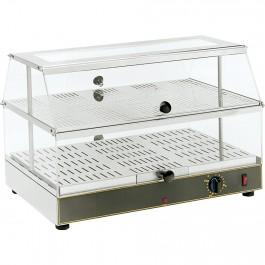 Warmhaltevitrine, für 2 x GN 1/1, Abmessung 590 x 350 x 390 mm (BxTxH) von Roller Grill