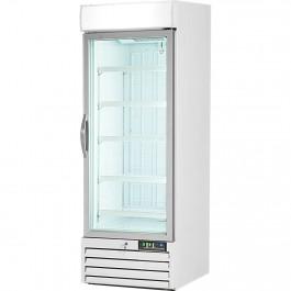 Displaytiefkühlschrank mit Glastür, 420 Liter, Abmessung 680 x 700 x 1990 mm (BxTxH) von Stalgast
