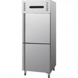 Kühl- / Tiefkühlkombination, 300 + 300 Liter, geeignet für GN 2/1, Abmessung 680 x 800 x 2010 mm (BxTxH) von Stalgast