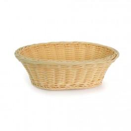 Brot- und Obstkorb oval, stabiles Geflecht, Polypropylen, 235 x 150 x 70 mm (BxTxH) von Stalgast