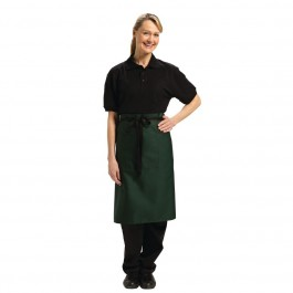Uniform Works Bistroschürze grün