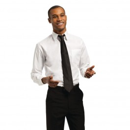 Uniform Works Unisex Oberhemd weiß XL
