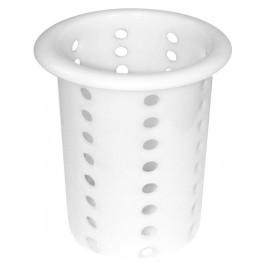 Besteckköcher Polyethylen weiß