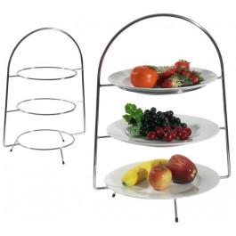Telleretagere, 3-stufig für Teller bis 30-34 cm