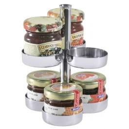 Marmeladen - Etagere für 6 Portionen