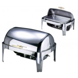 Chafing Dish mit Roll Top Deckel