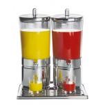 Saftdispenser DUO -TOP FRESH- 42 x 32 cm, H: 52 cm