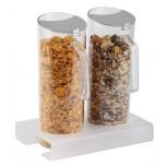Cerealien-Bar 26 x 17 cm, H: 28,5 cm