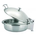 Chafing Dish mit Speiseeinsatz, 4,6 ltr., Ø 36 cm, Chromnickelstahl