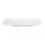 Gourmetteller flach eckig M5331/24x12 cm