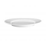 Teller flach oval 18 cm
