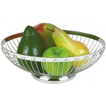 Brot- und Obstkorb, oval 20 x 15 cm, H: 7 cm