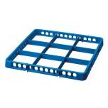 Spülkorbteiler 9, 500x5000x45, blau