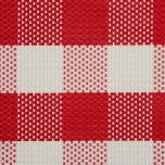 Tischset - rot/weiß kariert 45 x 33 cm