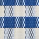 Tischset - blau/weiß kariert 45 x 33 cm