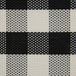Tischset -schwarz/weiß kariert 45 x 33 cm