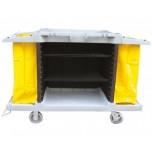 Zimmerservicewagen, 150 x 54 x 98,5 cm, Kunststoff