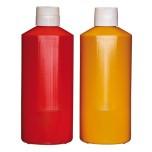 Quetschflasche, gelb Ø 9,5 cm, H: 25,5 cm