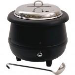 Elektrischer Suppentopf, 10 Liter, inklusive Suppenschöpfer