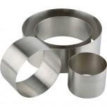 Schaumspeise-Ring, Ø 10 cm, Höhe 4,5 cm