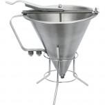 Fondant- / Likörtrichter mit Gestell, 1,8 Liter