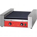Hot-Dog-Grill CATERINA, 5 antihaftbeschichtete Rollen, 552 x 250 x 220 mm (BxTxH)