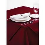 Palmar Tischläufer aus Polyester quadratisch 90cm bordeaux